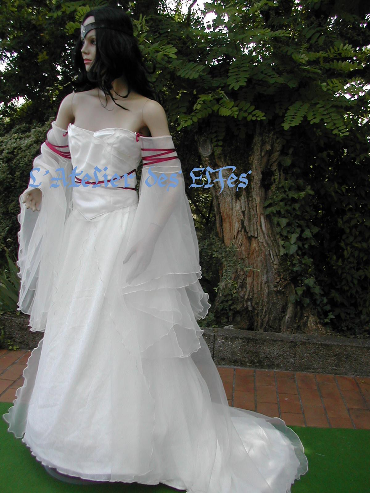 Mariage Elfique Robe la Robe de Mariée Elfique de