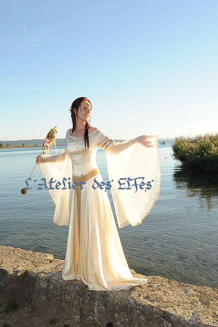 Super Mariage médiéval ou elfique : les costumes elfiques de Dame  KO09