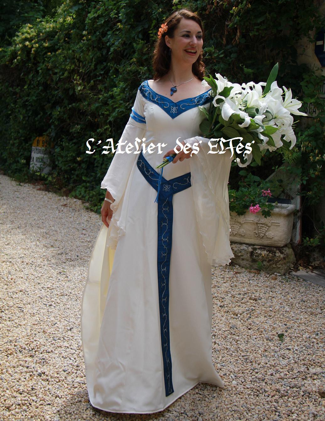 La Robe De Mariée Elfique De Dame Béatrice Pour Son Mariage