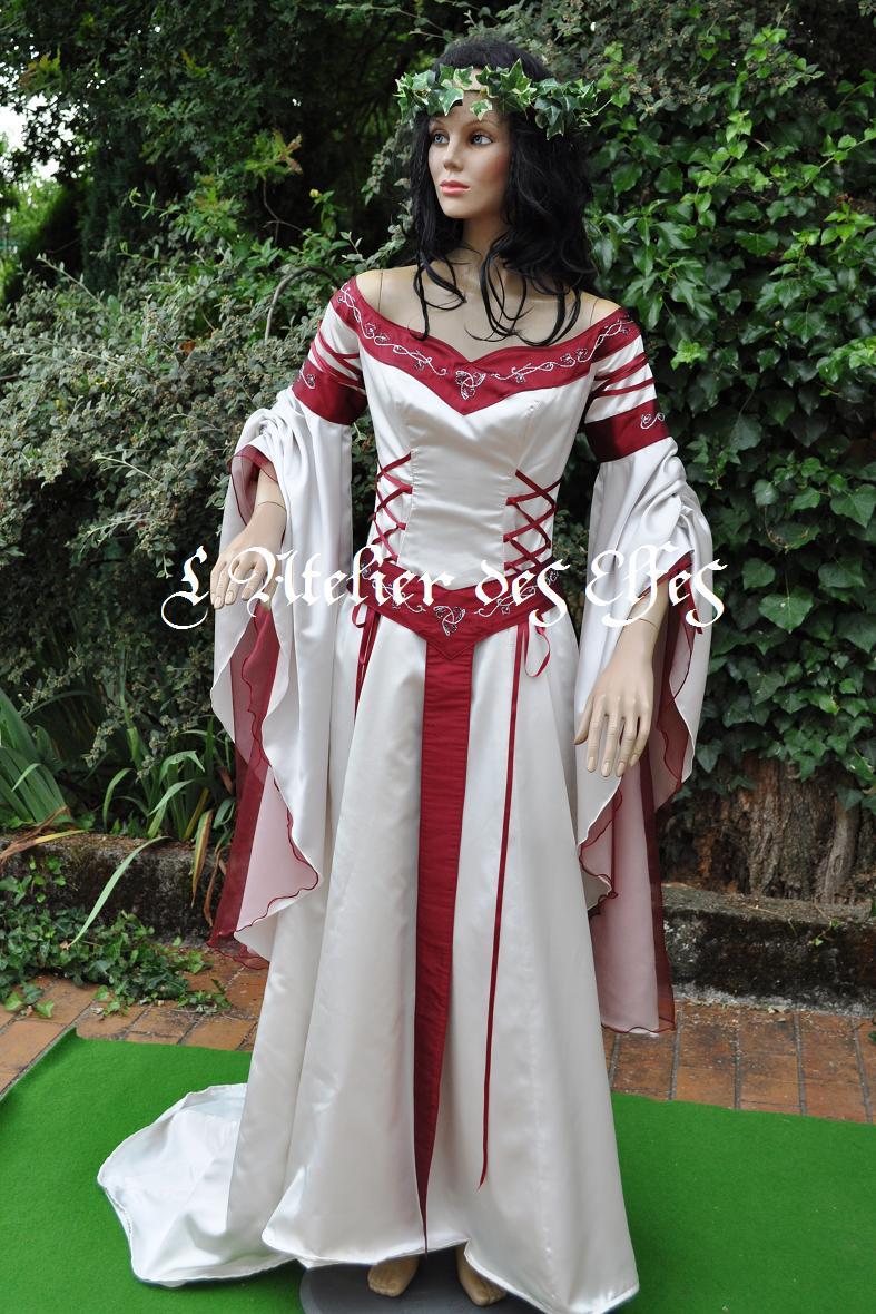 La Shrdtq Robe Elfes Laetitiapar Dame Mariée L'atelier Celtique De Des 3jRALq54