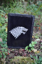 Portefeuille en cuir maison stark, game of thrones