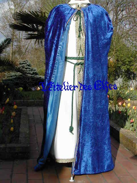 Top Mariage médiéval ou elfique : Les costumes médiévaux de Dame Jessy  FG07